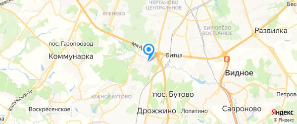 Asus на карте Москвы