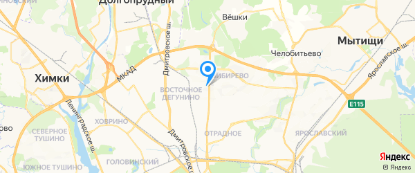 Телемастер на карте Москвы