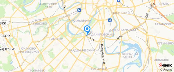 Московский Центр Сервисов на карте Москвы