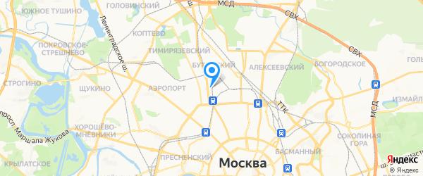 Legion Group на карте Москвы