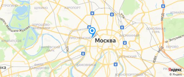 Твой мобильный сервис на карте Москвы