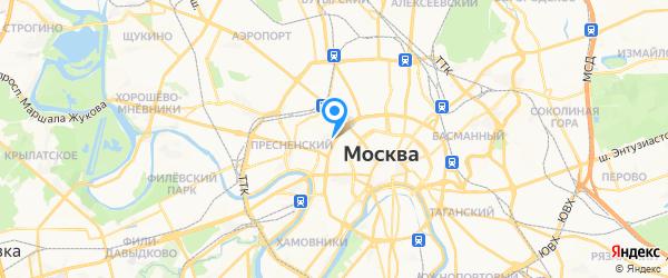 Интерторг на карте Москвы