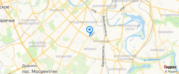 Поломка на карте Москвы