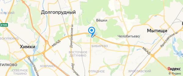 Merida & Delvir СЕРВИС на карте Москвы
