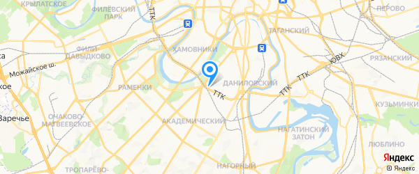 Ремонт телевизоров на карте Москвы
