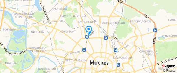 Белошвейка на карте Москвы