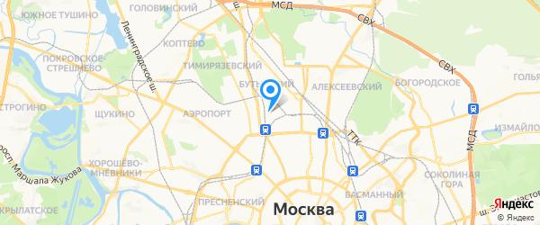СИМ2 Сервис на карте Москвы