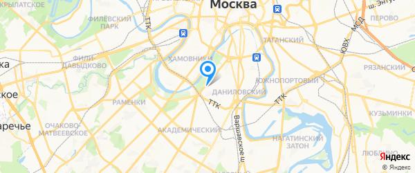 SwissMaster на карте Москвы