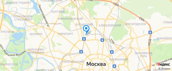 РемТехСервис на карте Москвы
