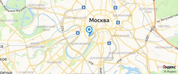 Ализар на карте Москвы