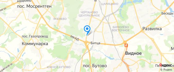 Мир и Сервис - проф на карте Москвы