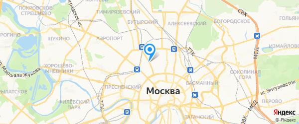 Гранд-Сервис на карте Москвы