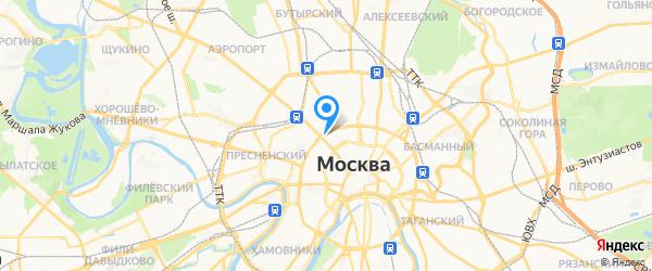 СиЭс Медика на карте Москвы