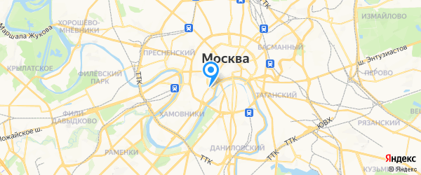 Часовой Сервис на карте Москвы