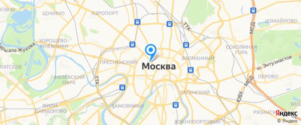СП-Сервис на карте Москвы
