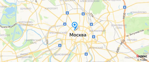 Мистер Телефон на карте Москвы