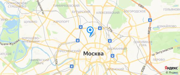 Внешремторг на карте Москвы