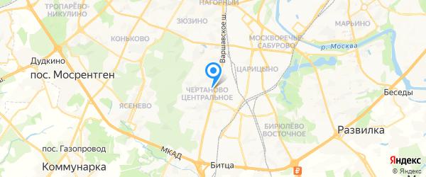 Комплэйс на карте Москвы