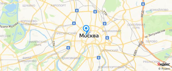 WatchExpert на карте Москвы