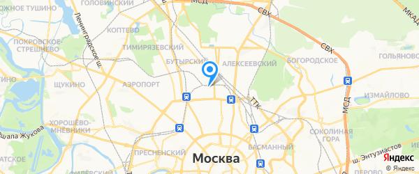 Ремтех на карте Москвы