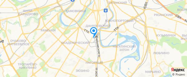 Белая Гвардия на карте Москвы