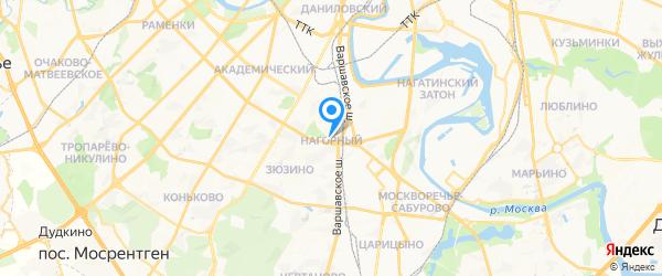 Дилакси на карте Москвы