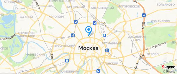 SwisSevice.ru на карте Москвы