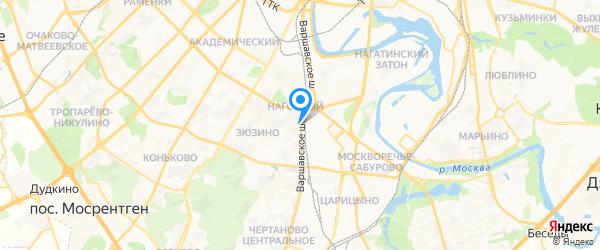 РемонТехник на карте Москвы
