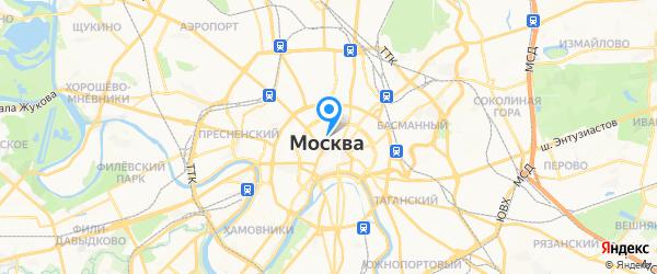 Техно-фаворит на карте Москвы