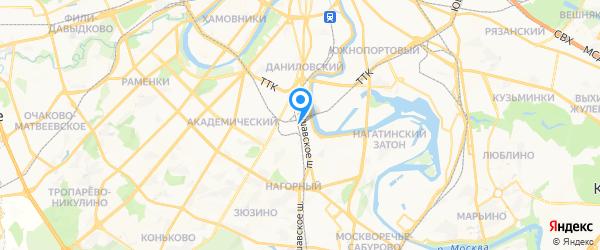 Олди на карте Москвы