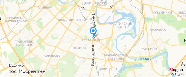 Philips в Москве на карте Москвы