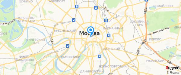 Сервис-Люкс на карте Москвы