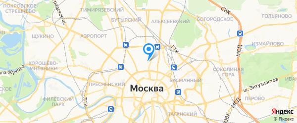 Технический Центр План Б на карте Москвы
