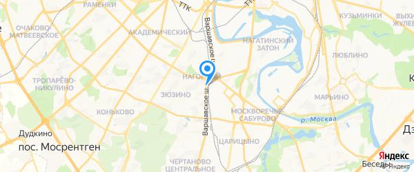 Комфортный Город на карте Москвы