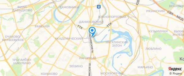 Профессиональная Электроника СЦ на карте Москвы