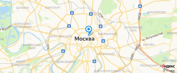 Топаз-2М на карте Москвы