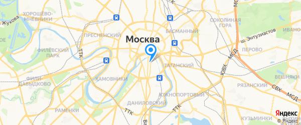 Немецкий мастер на карте Москвы