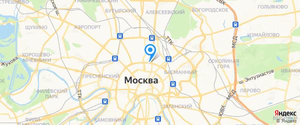 Эконом-Сервис на карте Москвы