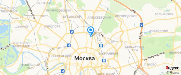 Сервис Корсо Трейд на карте Москвы