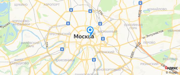 iQСервис на карте Москвы