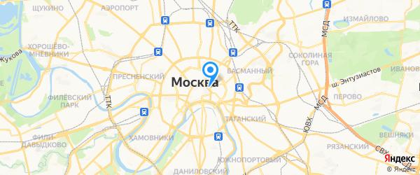 Панамастер на карте Москвы