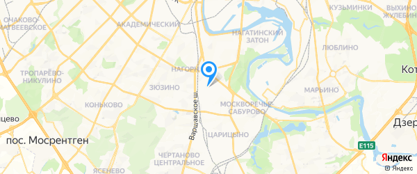 Ава-Рем на карте Москвы