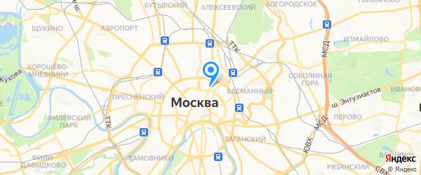 МосРемСтирМаш на карте Москвы