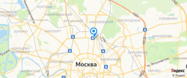 SERVAKS на карте Москвы