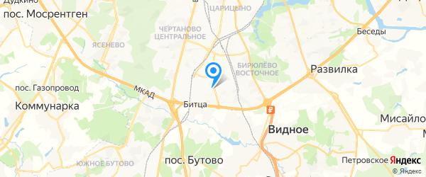 Тритон ЛТД на карте Москвы