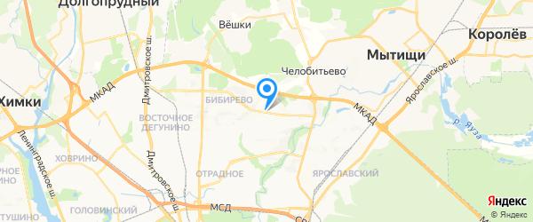 СЛТ-Системс Сервис на карте Москвы