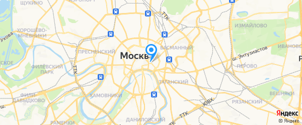 ПАНАМАН на карте Москвы