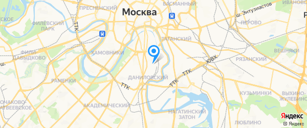 СпрингФорс на карте Москвы