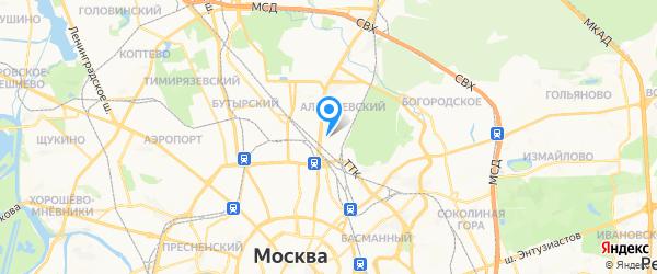 D-Link на карте Москвы