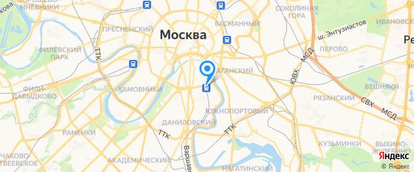 Бест Консоль на карте Москвы
